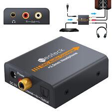 DAC Convertitore Digitale ad Analogico Adattatore Audio Coassiale Ottico ad RCA