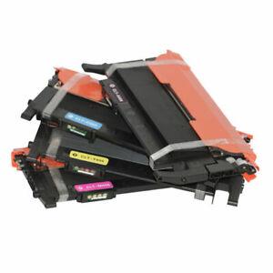 4x Toner Cartridge for Samsung CLTK406S CLTC406S CLTM406S CLTY406S K406S C406S