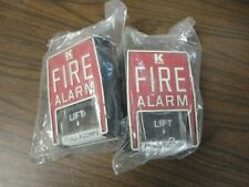 KIDDE #B6 Non-Coded FIRE ALARM PULL STATION - New Old Stock - Unused