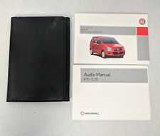 GENUINE VAUXHALL AGILA B MK2 OWNERS USER MANUAL HANDBOOK GUIDE 2000-2007 M-360