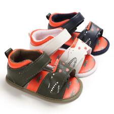 Alligator Baby Boys Crib Shoes Crocodile Infant Child Soft Sole Summer Sandals