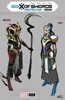 X of Swords Destruction #1 (2020) Pepe Larraz 1:10 Variant Cover Marvel Comics