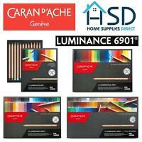 Caran d'Ache Luminance Colour Pencil 6901 Professional Artist Set of 12/20/40/76
