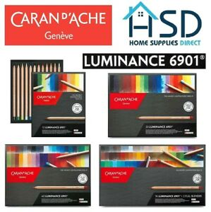 Caran d'Ache Luminance Colour Pencil 6901 Professional Artist Set of 12/20/40/76