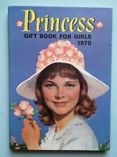 PRINCESS GIFT BOOK FOR GIRLS vintage 60s 70s annual retro crafts collage dolls