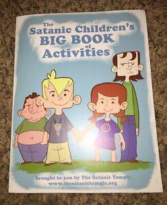 The Satanic Childrens Activity Book Pb
