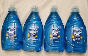4 Special Value 7oz Dawn Blue Dish Soap 3X Grease Clean Power