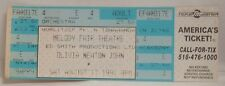 Olivia Newton John - Vintage 1991 Unused Whole Concert Ticket
