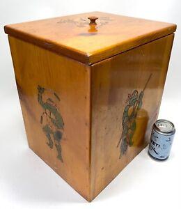Vintage HOMEMADE TMNT Teenage Mutant Ninja Turtles Toy Chest Box Storage 80s 90s