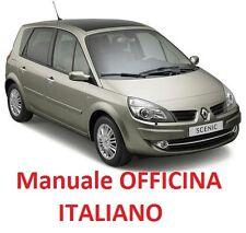 Renault SCENIC II 2 (2003/2009) Manuale Officina Riparazioni  su cd in ITALIANO