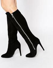 Größe 39 Stiefel mit Reißverschluss