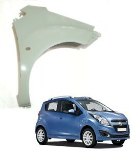 Chevrolet Spark 2010 - 2017 Front Right Wing Panel With Flasher Hole Primed