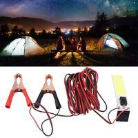 12V Outdoor COB Emergency Light White LED Slim Chip Lamp for Tent Camping Lamp B