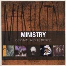MINISTRY - ORIGINAL ALBUM SERIES 5 CD ROCK NEW+