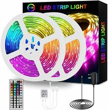 LED Strip Lights,10m RGB LED Light Strips with Remote Control,5050 Rope Lights C