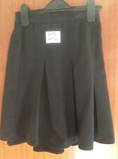 Girls SCHOOL UNIFORM Grey/charcoal Box Pleat Skirt - 8-9 Years - Aldi