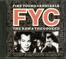 Fine Young Cannibals - The Raw & The Cooked (CD, Feb-1989, I.R.S. Records)