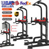 Power Tower Multi-Station Push Pull Up Chin Dip Bar Exercise Gym Home Workout
