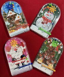 Christmas Mini Pinball Game Toy Festive Xmas Stocking / Cracker Filler