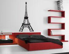 EIFFEL TOWER Paris Vinyl Wall Art Quote Sticky Decals Sticker Home Decor Design