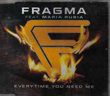 Fragma-Everytime You Need Me cd maxi single eurodance