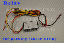 12V RELAY for CISBO parking sensor fit fitting CANBUS car ignition power source