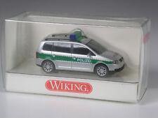 TOP: Wiking Serienmodell VW Touran Polizei grün in OVP
