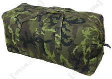 Czech Army 95 PATTERN CAMO KIT BAG - Large Camouflage Duffel Military Holdall