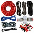 SoundBox ECK4, 4 Gauge Amplifier Install Kit Complete Amp Wiring Cables, 2300W