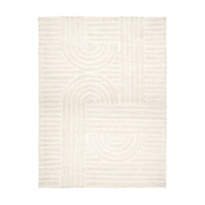 Arch Wool Blend Rug Chic Contemporary Rectangle Medium Xmas Gift 2021 M1