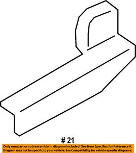 FORD OEM Transit-150 Sliding Door-Check Arm Stop Hinge Strap Right BK2Z1525054A