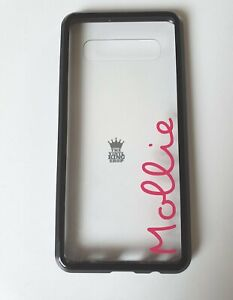 2 x Personalised Name Stickers - Love Island Style for Phone Mobiles Apple X 10