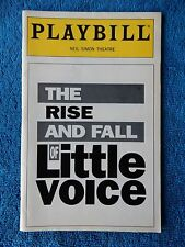 The Rise And Fall Of Little Voice - Neil Simon Theatre Playbill - April 1994