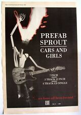 PREFAB SPROUT 1998 original POSTER ADVERT CARS AND GIRLS