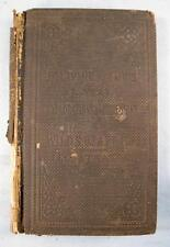 Dr David Livingstones 17 Years In Wilds Of Africa Antique Book Circa 1860 (O)