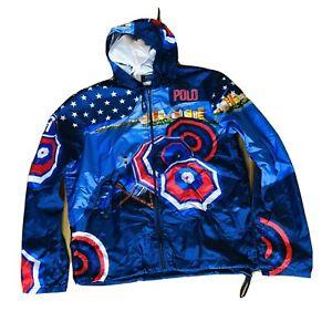 Polo Ralph Lauren Team USA Río Olympic 2016 Windbreaker Jacket Mens Size M