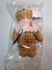 "Avon Breast Cancer Crusade 2001 Mini Teddy Bear 7"" new with tags"