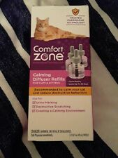 COMFORT ZONE Calming Diffuser Refills 3pack for cats & kittens New
