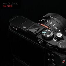GARIZ Camera Flash Hot Shoe Metal Cover Holder XA-SPM2 Sony Fuji Leica Black