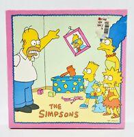 Vintage Milton Bradley The Simpsons 250 PC Jigsaw Puzzle 4063-4 1990 Complete
