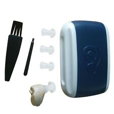 New Small In-Ear Voice Sound Amplifier Adjustable Tone Mini Hearing Ear Aid SV