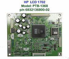 Mainboard PTB-1368 For Monitor LCD HP L1702 Motherboard p/n 6832136800-02