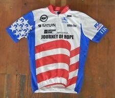 GIORDANA Italy Made American Flag TEAM USA CYCLING JERSEY Bike Shirt Size MEDIUM