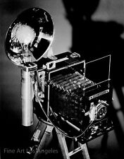 Morley Baer photo, Speed Graphic camera, 1940s