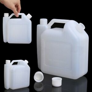 Plastic Premium Fuel Mixing Bottle Two Stroke Oil Petrol For Chainsaw Mower Etc