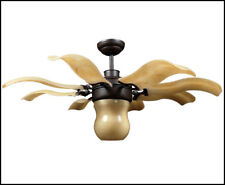 Vento Fiore 42 in. Roman Bronze Retractable Antique Ceiling Fan - J-00064