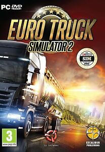 Euro Truck Simulator 2 PC DVD * BRAND NEW & SEALED BOXED * ENGLISH VERSION