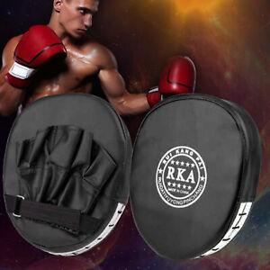 2x Pratzen FocusPad Handpratzen Schlagpolster Kampfsport Pratze Boxen Training
