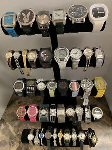 Huge Quartz Watch Lot - Fossil, Pulsar, Timex, Armitron, +More-42 Watches!