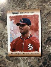 2003 Playoff Portraits 69/100Albert Pujols #31 - St. Louis Cardinals RARE